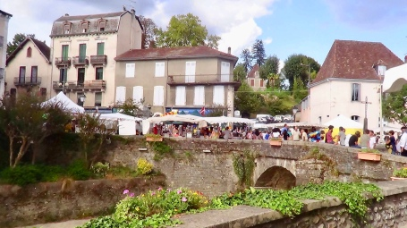 Le pont de la Lune de Salies de Béarn