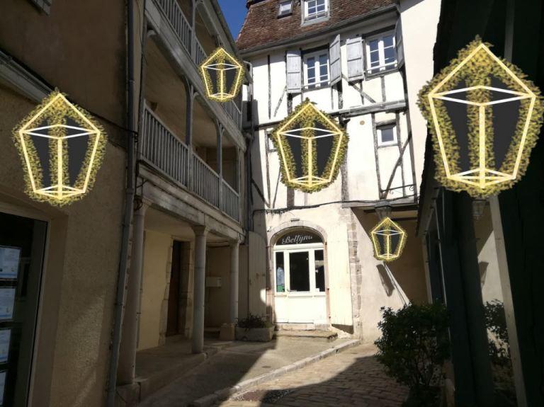 Projet lanternes Rue Mairie