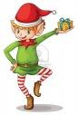 Illustration D'un Elfe De Noël | Christmas | Pinterest | Noel, Lutin serapportantà Lutin Noel